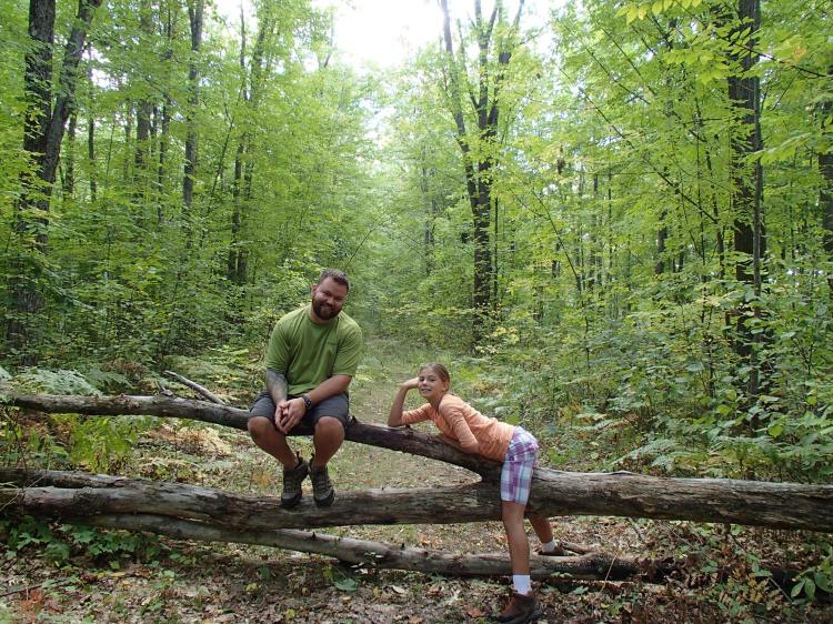 goofballs in the woods.