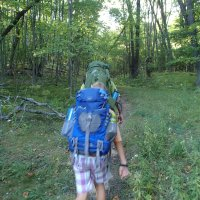 adventure, adventure :: backpacking in the moonlight